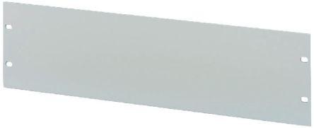 19-inch Front Panel, 9U, Grey, Aluminium product photo