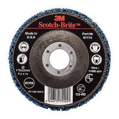 3M Scotch-Brite Extra Coarse 115mm Silicon Carbide Stripping Disc, SXCRS  Grit