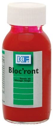Bloc'ront Red Thread lock, 60 ml, 15 min Cure Time product photo