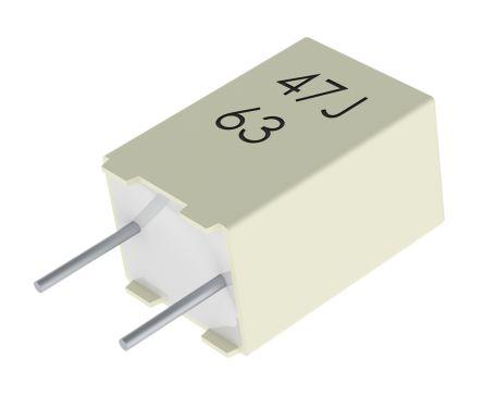 Polyester capacitor kemet 2,2nf 63v ac 100v dc