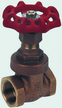 Bronze Globe Valve 110010, 1-1/4 in BSPT 32 bar product photo