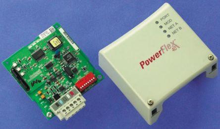 Allen Bradley 22-COMM-D Communication Module for use with PowerFlex 40,  PowerFlex 400, PowerFlex 40P