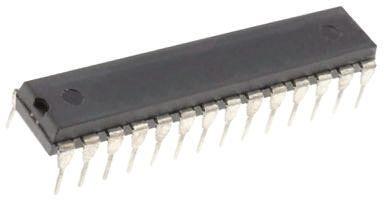 Microchip DSPIC33FJ64MC802-I/SP, 16bit DSP 40MIPS 64 kB Flash SPDIP 28-Pin