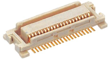 Molex SlimStack 55560, 20 Way, 2 Row, Straight PCB Header