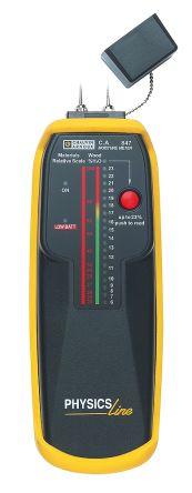 Chauvin Arnoux C.A 847 Moisture Meter, Maximum Measurement 100%