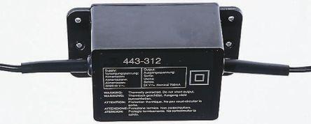 Black ABS CCTV power supply,9Vdc 0.35A