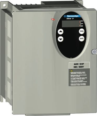 Schneider Electric Inverter Drive, 3-Phase In, 0 5 → 500Hz Out 1 5 kW, 400  V with EMC Filter, 6 4 A ALTIVAR 31