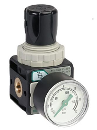 Asco G 1/8 550L/min Pneumatic Regulator, 0.5 → 8bar