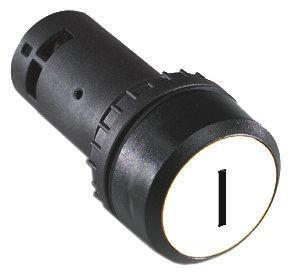 ABB ABB Compact Illuminated White Push Button NO Momentary