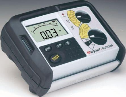 Megger RCDT 310 RCD Tester 500mA AC Selective, DC Selective CAT III 300 V