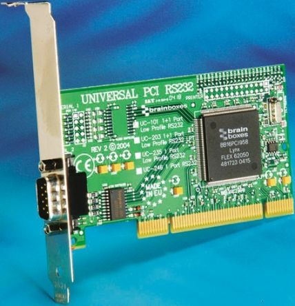 Brainboxes PCI RS232 Board
