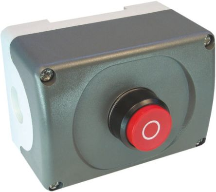 Enclosed Push Button, IP66 79mm 75mm 101mm