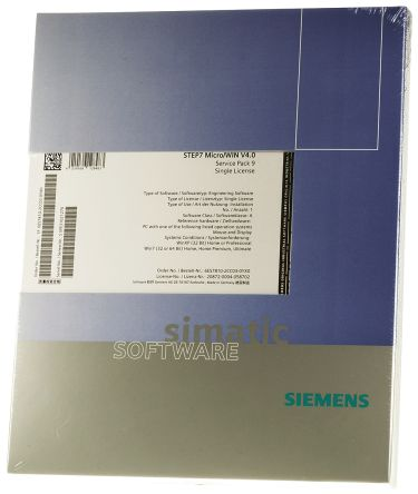 Siemens PLC Programming Software 4 0 for use with SIMATIC S7-200 for  Windows 7, Windows XP