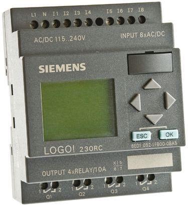 6ed1 052 1fb00 0ba5 siemens logic module 115 v ac dc 230 v ac dc rh uk rs online com siemens logo 230rc manuel siemens logo 230rc manual portugues