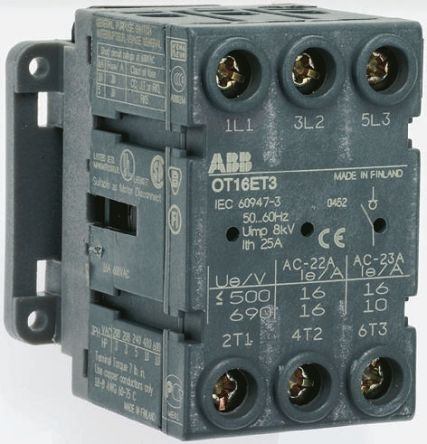 Switch,discon,single hle,door mnt,3P 40A