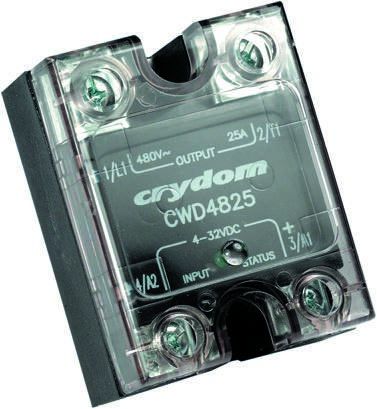 Sensata / Crydom 90 A SPST Solid State Relay, Zero Cross, Panel Mount, SCR,  660 V ac Maximum Load