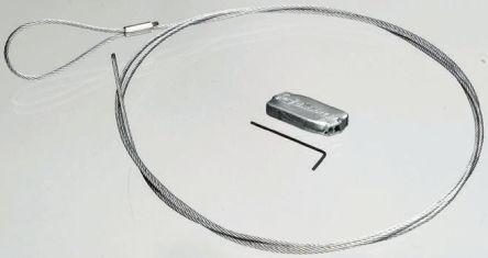Loop Wire | Hf02 3m Gripple 11 To 45 Kg Galvanised Steel Suspension System
