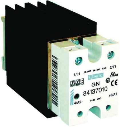 SOLID STATE RELAY 25A 230V AC 84136155 RS Components