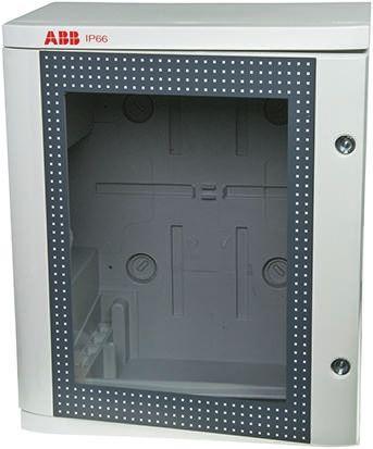 1SL02 IP66 Wall Box, Thermoplastic, Grey, 400 x 335 x 210mm
