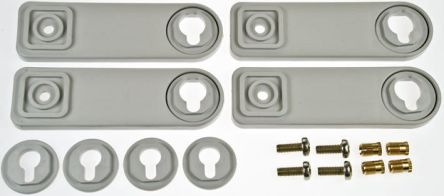 ABB 1SL0342A00 Wall Mounting Bracket for use with IP66 Gemini Weather Proof Enclosures
