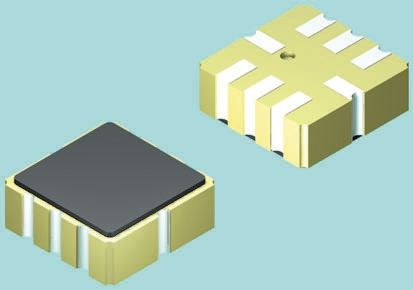 Analog Devices AD22286-R2, 2-Axis Accelerometer, CLCC 8-Pin