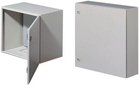 24 x 24 x 12 In 16 Gauge IP65 Carbon Steel Electrical Enclosure Cabinet