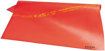 KnipexNo Electrical Safety Mat 1000V x 500mm, 500mm x 1mm