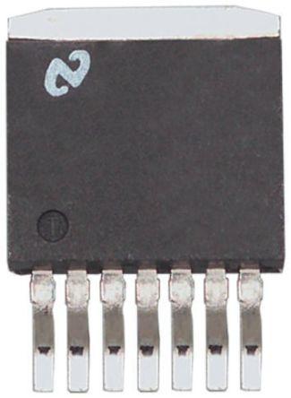 Texas Instruments TPS92550TZ/NOPB LED Driver IC, 4.5 → 36 V dc 300 → 450mA 7-Pin TO-PMOD