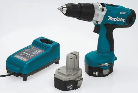 Makita Keyless 14 4V Combi Drill, UK Plug (8434DWFE)