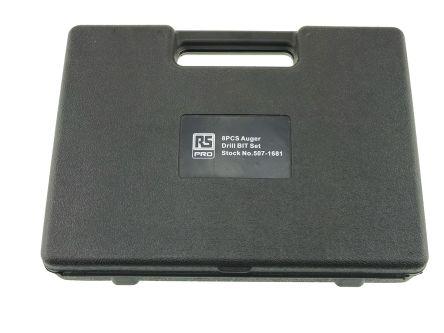 RS PRO 8 piece HCS Auger Bit Set 6mm to 20mm