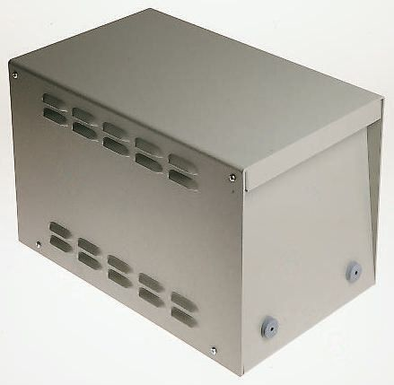 Power Supply Case, Aluminium, Grey, 366 x 221 x 241mm product photo