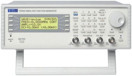 Aim-TTi TG2000 TG 2000 Function Generator 20MHz RS232, USB