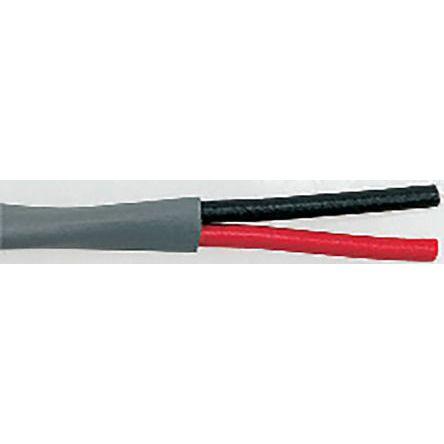Belden 2 Core Security Cable 2.09 mm² CSA, Low Smoke Zero Halogen (LSZH) Sheath, 100m
