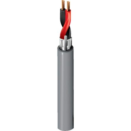 Belden 2 Core Screened Security Cable 1.31 mm² CSA, Polyvinyl Chloride PVC Sheath, 152m