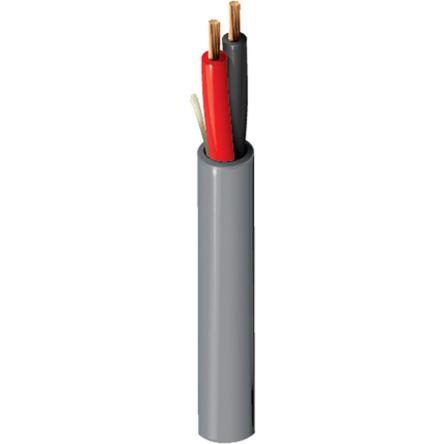 Belden 2 Core Security Cable 1.31 mm² CSA, Polyvinyl Chloride PVC Sheath, 152m