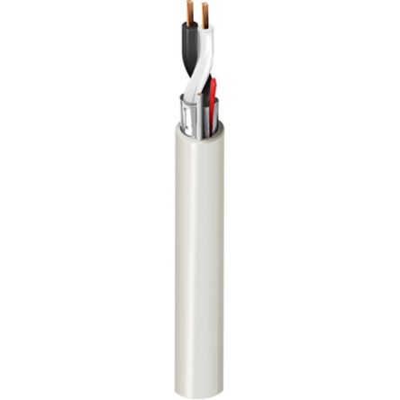 Belden 2 Core Screened Security Cable 0.33 mm² CSA, Polyvinyl Chloride PVC Sheath, 152m