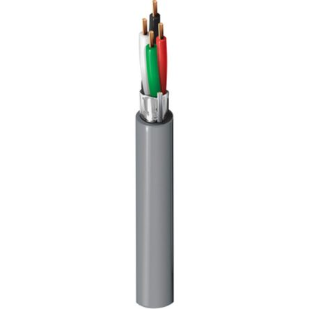 Belden 4 Core Screened Security Cable 0.33 mm² CSA, Polyvinyl Chloride PVC Sheath, 152m