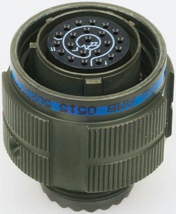 Socapex 13 Way Cable Mount MIL Spec Circular Connector Plug, Pin Contacts,Shell Size 11, Screw Coupling product photo