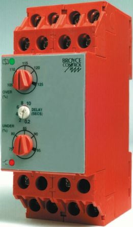 Broyce Control Phase Voltage Monitoring Relay with DPDT Contacts 3