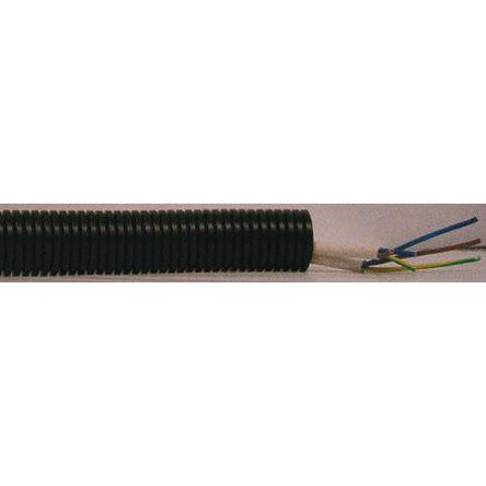 PMA PCS Plastic Flexible Conduit Black 20mm 10m M20 Wall Wire Harness Cket on