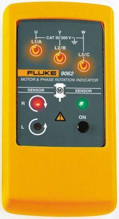 FLUKE 9062 Phase Rotation Tester CAT III 300V LED CAT III 300 V 400Hz 400V ac, Model 9062