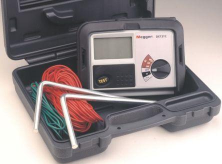 Megger DET3TC Earth & Ground Resistance Tester 2kΩ CAT IV 100 V