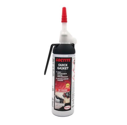 5910 QUICK GASKET Loctite 5910 Black Silicone Sealant Paste 100 ml Cartridge product photo