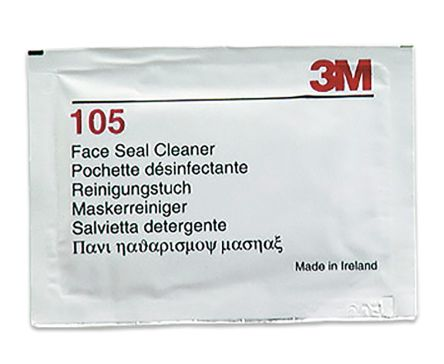 3M 105 Face Seal Cleaner for use with 3M Respirator