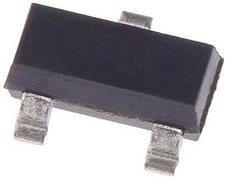 Nexperia, PDTA115TT,215 PNP Digital Transistor, 100 mA 50 V 100 kΩ, Ratio Of None, 3-Pin SOT-23