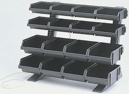 Antistatic table top 16 bins rack kit 1