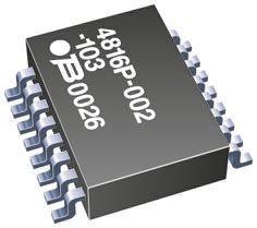 RESISTORE Network 4116r-1-681lf Bourns 680R prezzo per: 5