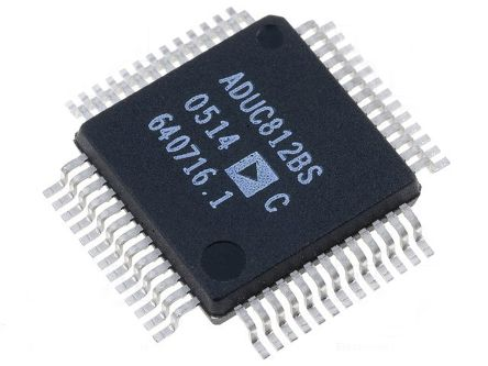 Analog Devices ADUC812BSZ, 8bit 8052 Microcontroller, 16MHz, 640 B, 8 kB Flash, 52-Pin MQFP