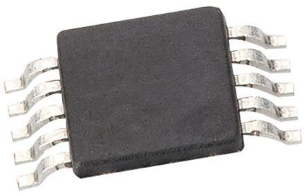 Analog Devices AD5322BRMZ, 2-channel 12 bit Serial DAC, 125ksps, 10-Pin MSOP