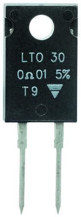 Vishay 1kΩ 30W Thick Film Resistor ±5% ±150ppm/°C LTO030F10000JTE3